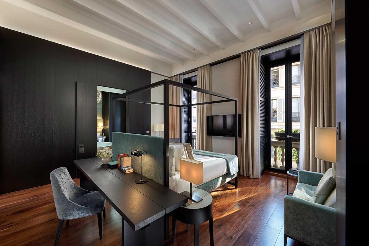 L'interno di una camera al Mandarin Oriental di Milano Fashion Week a Milano, ecco dove dormire e mangiare per incontrare stilisti e vip