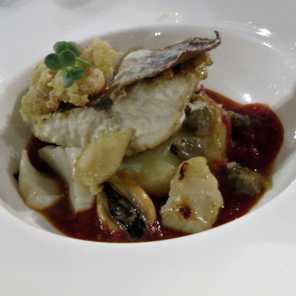 filetto di gallinella di mare in brodetto pesarese - italia a tavola - Come Cucinare Filetti Di Gallinella