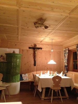 Una magica avventura culinariaal maso Föhrner in Alto Adige