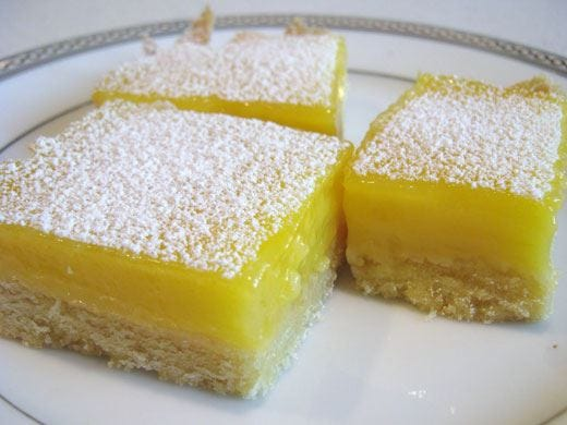 Torta mattonella al limone senza glutine e senza lattosio