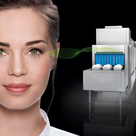 M-iQ GreenEye di Meiko, la luce verde che migliora le prestazioni del lavaggio