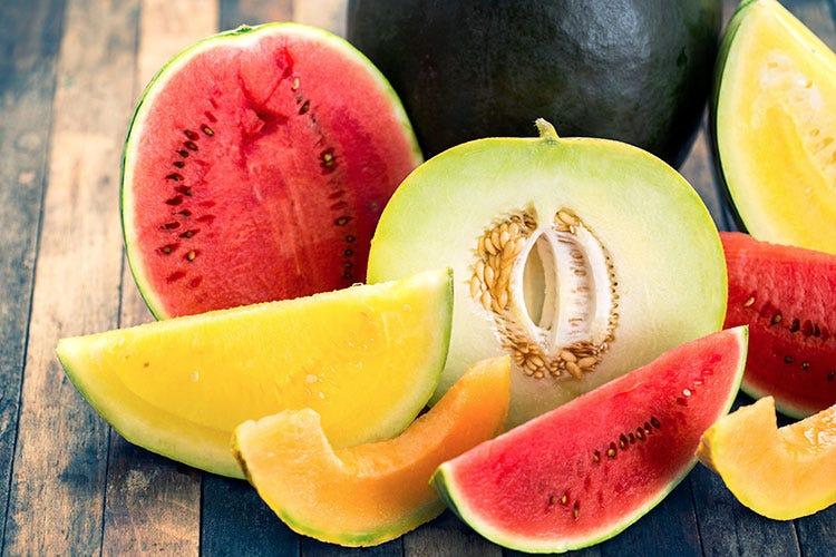 Meloni e angurie protagoniste della produzione ortofrutticola estiva Meloni, angurie e ravanelli L'estate si fa largo nell'ortofrutta