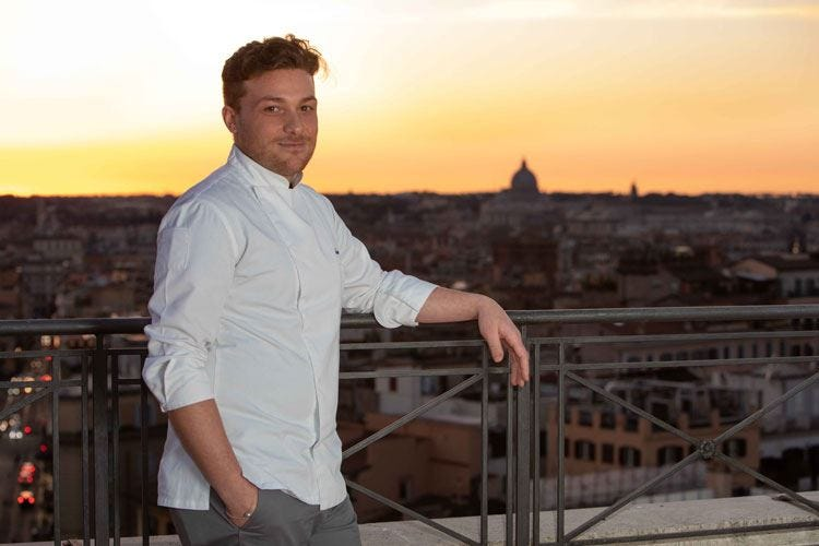 Il menu al buio di Alessandro Caputo al nuovo The Flair di piazza Barberini