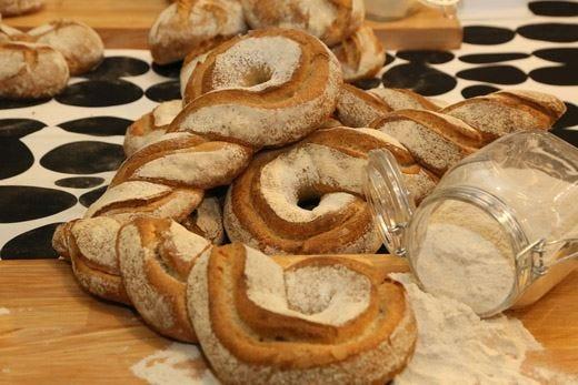 Pane e olio al Mercato Centrale di Firenze Lo stile italiano protagonista in tavola