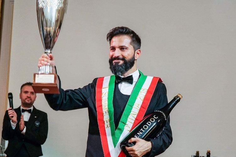 Miglior Sommelier d'Italia 2018 Simone Loguercio si aggiudica il titolo