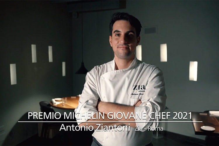 Antonio Ziantoni - Guida Michelin Italia 2021 Il liveblogging con le nuove stelle