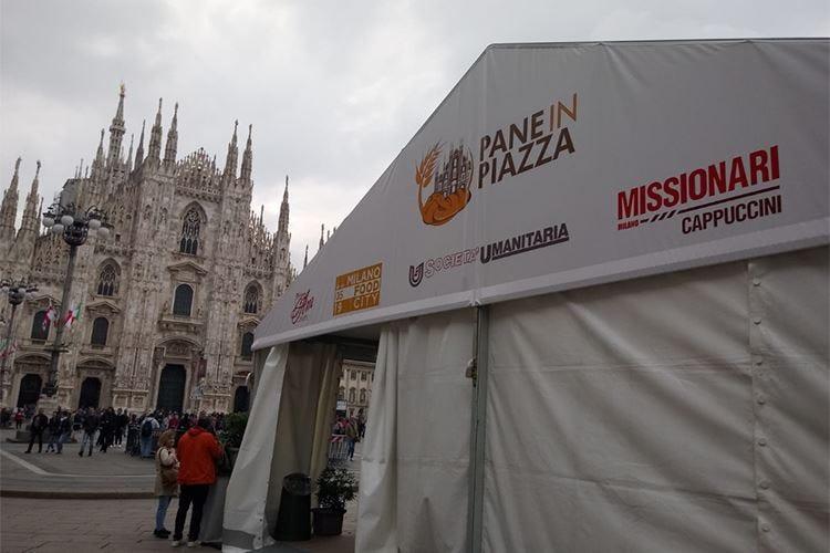 La Milano che fa del bene Il cibo per aiutare i meno fortunati