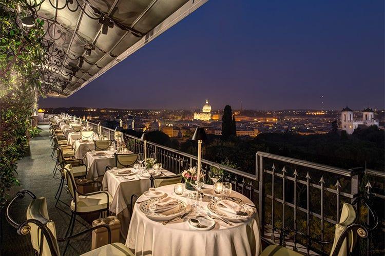 Mirabelle, vista spettacolare e cucina gourmet mediterranea - Italia ...