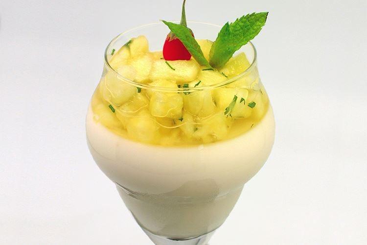 Mojito all'ananas
