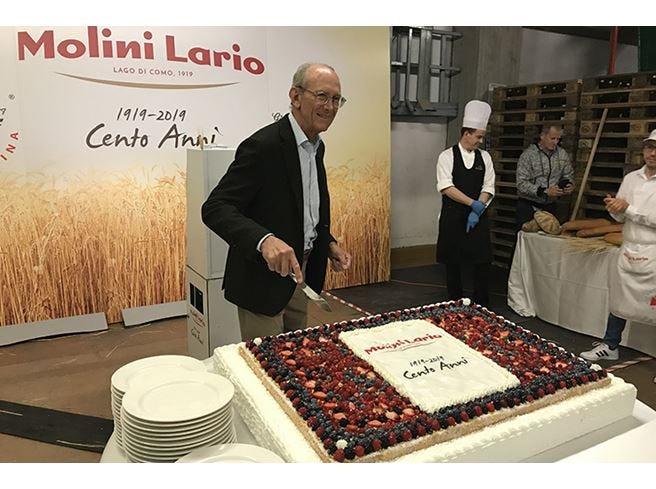 I 100 anni di Molini Lario Dipendenti protagonisti della festa