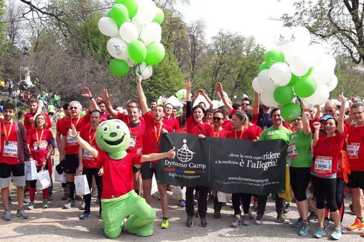 Mondelez corre la maratona di Milano per sostenere il Dynamo Camp