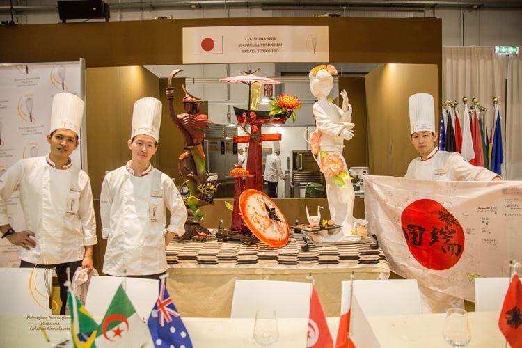 Mondiale di pasticceria al Giappone Italia solo terza dietro alla Cina