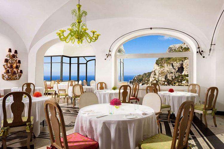 Le Monzù, angolo gourmet a Capri tra cucina mediterranea e gin list