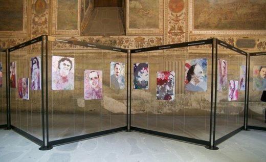 Nella capitale dell'arte, una mostrain onore dei più noti cuochi italiani
