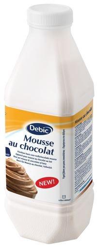 Mousse au chocolat Debic per l'HorecaNuova base per dessert pronta all'uso