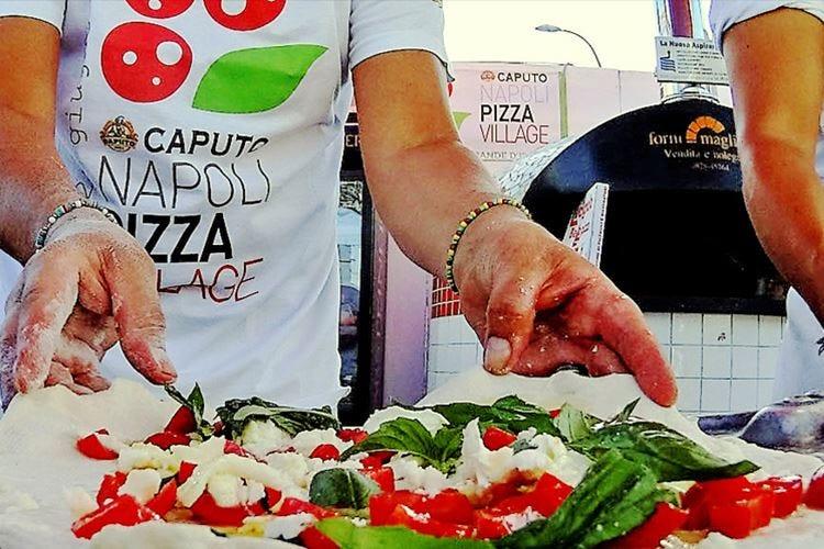 """Sipario sul """"Pizza Village"""" A Napoli un milione di visitatori"""
