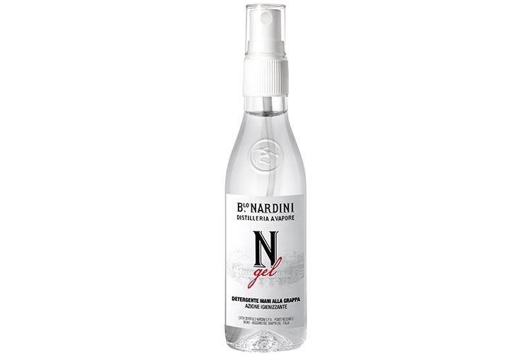 Nardini, ecco il gel alla grappa Disinfettante per mani anti-covid