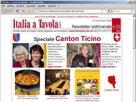 Notizie e aggiornamenti dal Canton Ticino