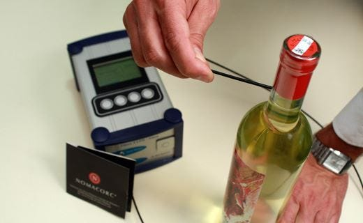 L'evoluzione del vino NomaSense misura l'ossigeno