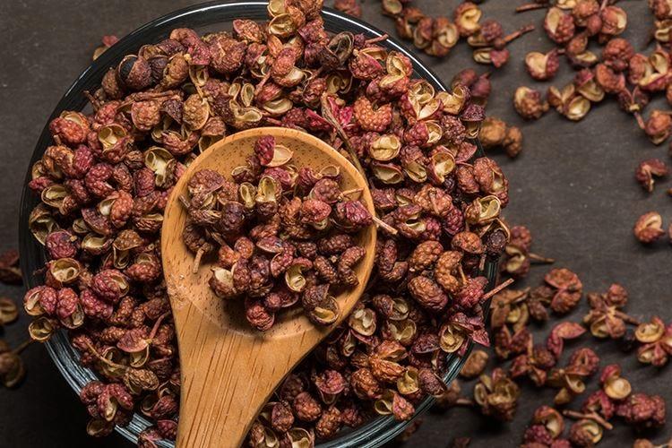 La nota fresca e agrumata del pepe del Sichuan