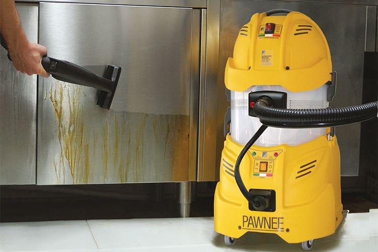Vapore e pressione garanzia di igiene in cucina