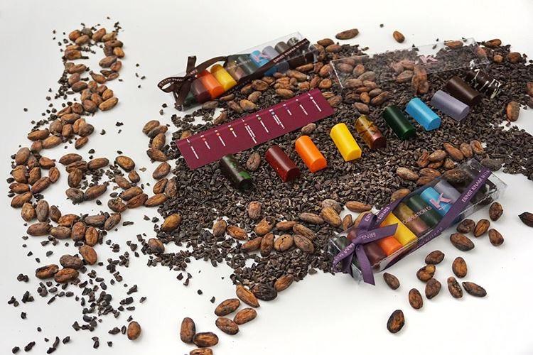 L'omaggio di Knam a Sanremo Il Festival si copre di cioccolato