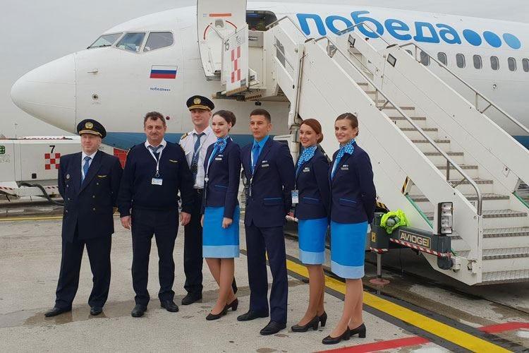 Da Orio al Serio si vola a S.Pietroburgo con la compagnia low cost Pobeda Airlines