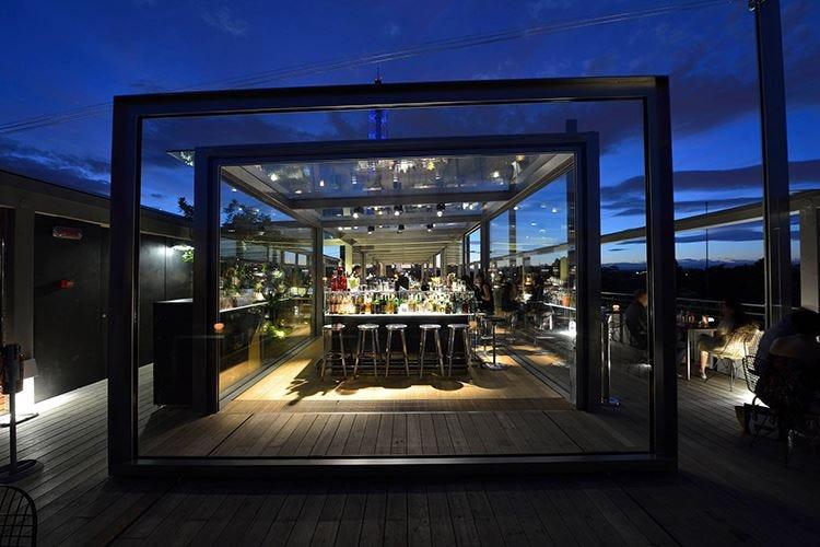 Osteria con Vista Cena panoramica su Milano