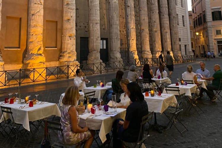 Roma da vivere e gustare all'aperto: ecco la mappa delle riaperture in città