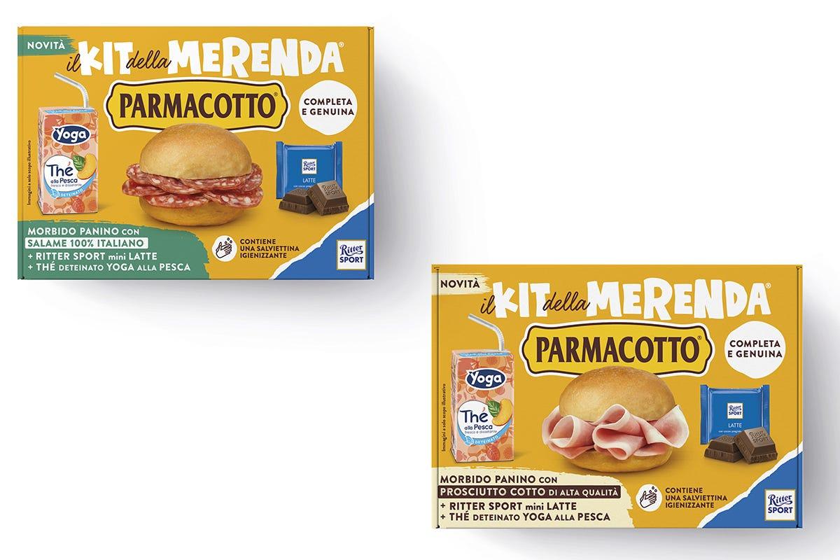 Il kit della merenda di Parmacotto
