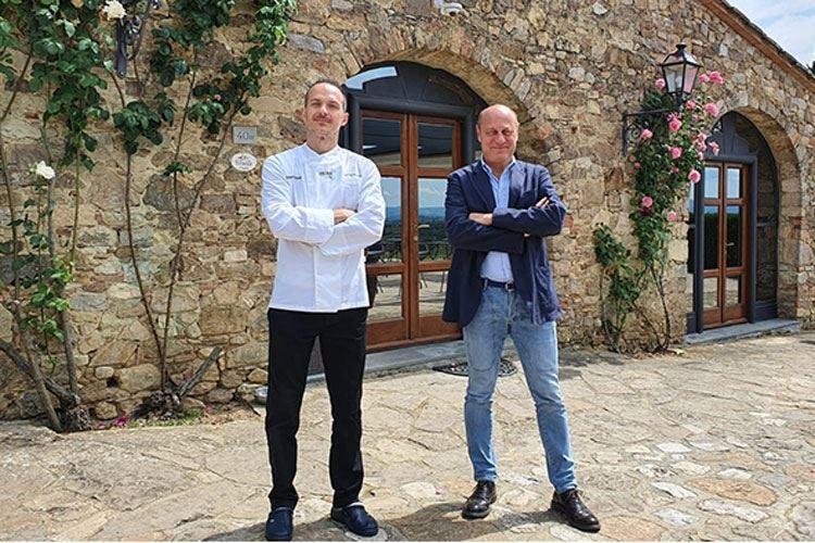 Passo dopo Passo apre nel Chianti Ai fornelli lo chef Maurizio Bardotti