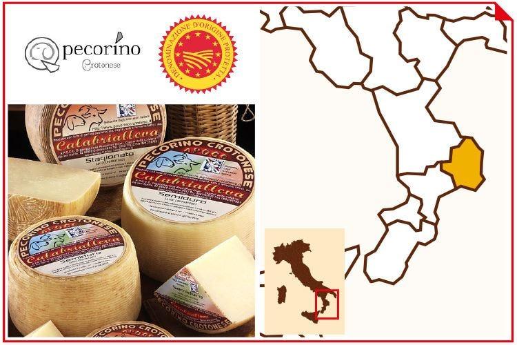 Pecorino Crotonese Dop