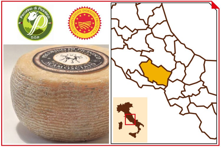 (Pecorino di Picinisco Dop)
