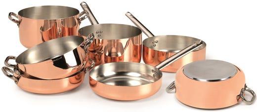 Pentole agnelli si fa in quattro ecco le linee per i piani a induzione italia a tavola - Pentole per cucine a induzione ...