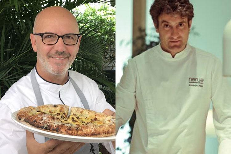 Pepe cucina con Alija La pizza incontra la cucina basca