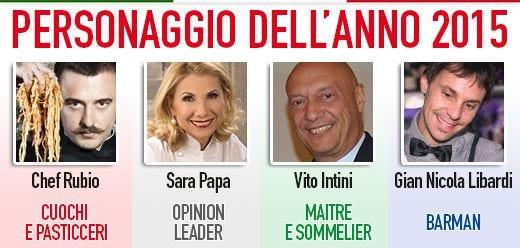 Rubio, Papa, Intini e Libardi i Personaggi dell'anno 2015