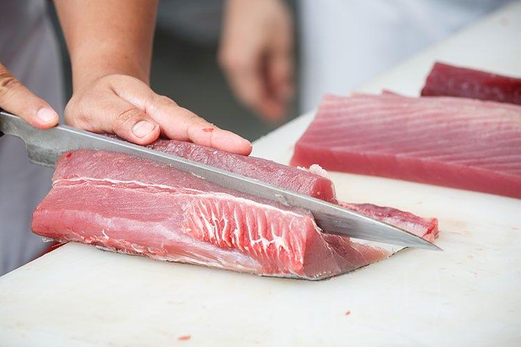 Pesce crudo, attenzione all'anisakis Cottura o abbattitore per eliminarlo