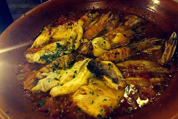 Il pesce fresco di Nadia L'impegno di una vita da cuoca