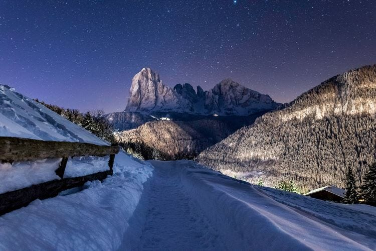 """Pioggia di """"stelle"""" in Val Gardena"""
