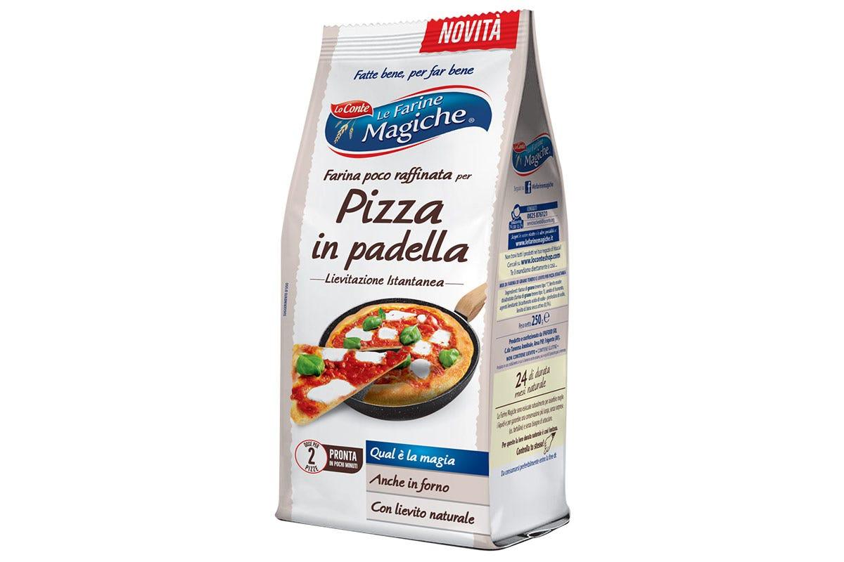 Il mix Pizza in Padella de Le farine Magiche Pizza in padella, gusto e semplicità in un attimo con Le Farine Magiche
