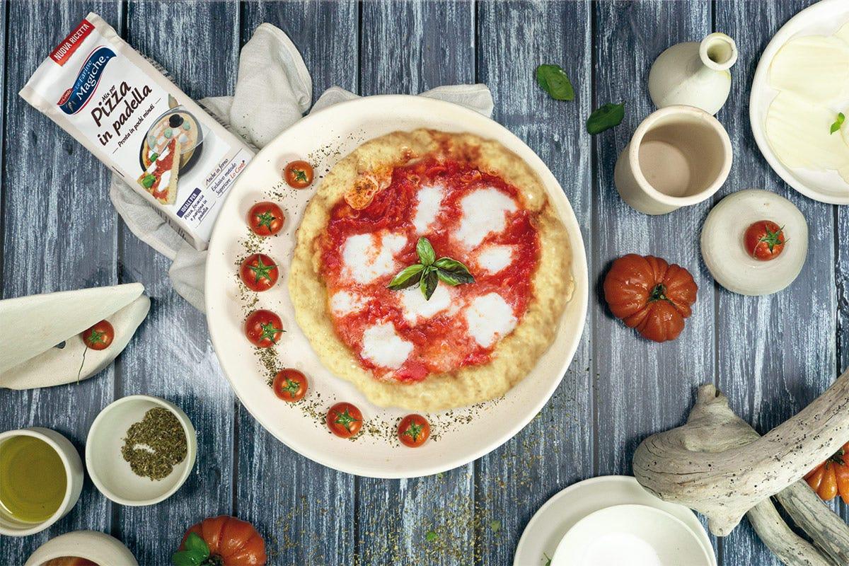 Ottimi risultati in poco tempo con Pizza in Padella Pizza in padella, gusto e semplicità in un attimo con Le Farine Magiche