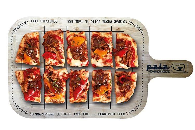 Menù firma la pizza in P.a.l.a Da gustare dopo 5 minuti di forno