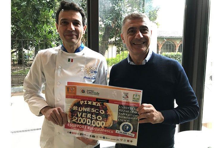 #pizzaUnesco, in dirittura d'arrivo Continua il sostegno da Euro-Toques