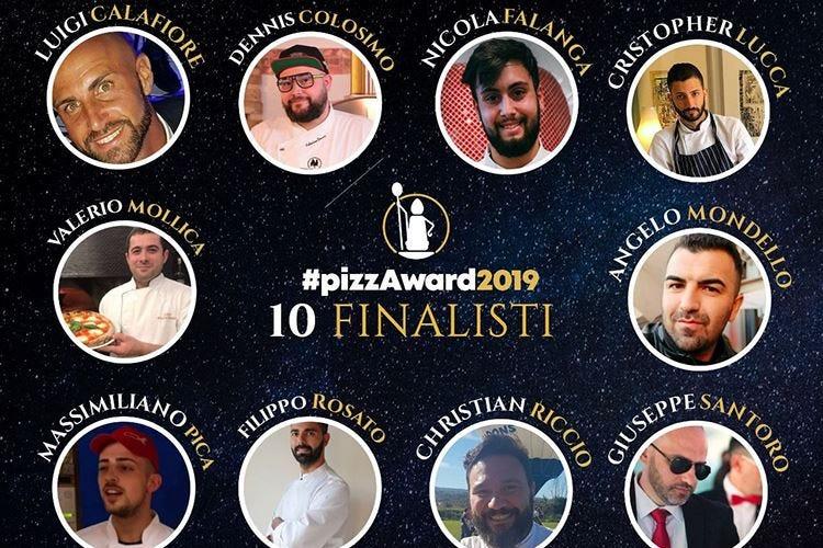 """PizzAward, svelati i 10 finalisti Corrado Bombaci """"Pizzaiolo social"""""""
