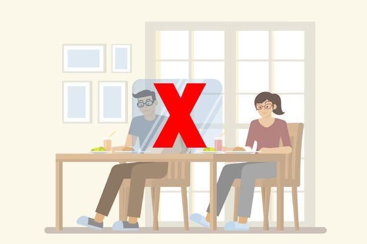Barriere di plexiglass al tavolo? Dai ristoratori solo un coro di no