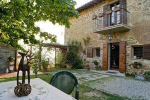Podere Piccolo, tradizione e ospitalità Una casa colonica nelle colline toscane