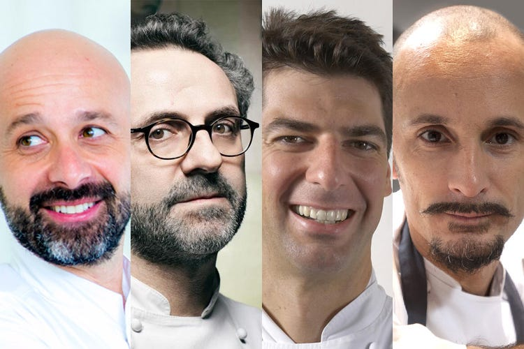 Poker di re per la Cucina italiana Per 1 punto Romito £$primus inter pares$£