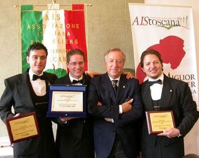 Il barman Andrea Balleri Miglior Sommelier della Toscana 2009