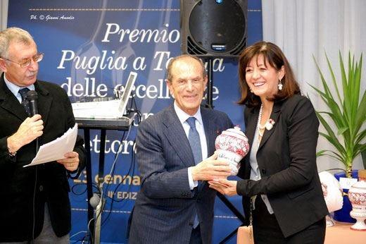 Salerno, Caldarulo e Modugnosi aggiudicano il premio Puglia a Tavola