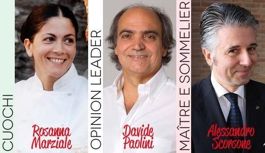 Marziale, Paolini e Scorsone Personaggi dell'anno 2011
